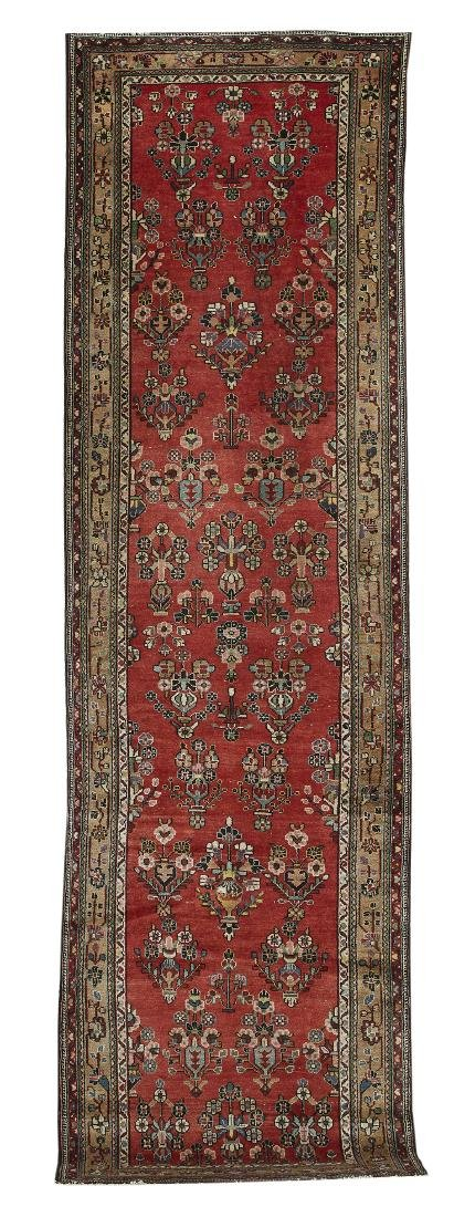 Semi-Antique Hamadan Runner