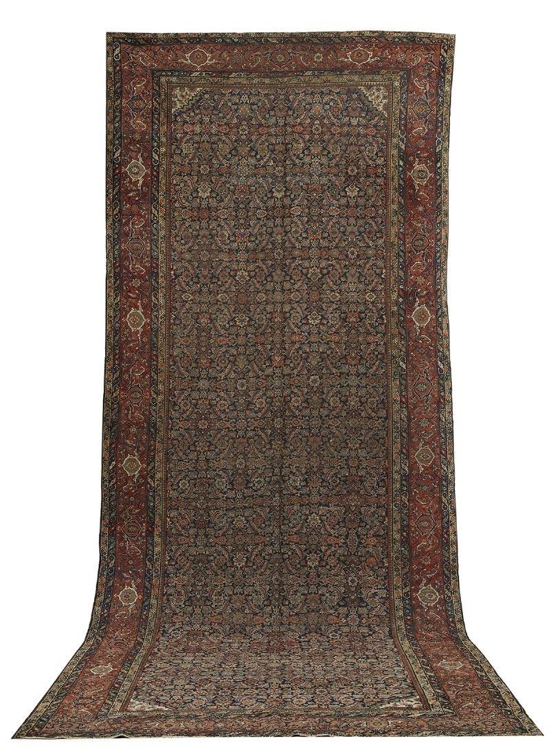 Antique Feraghan Gallery Carpet