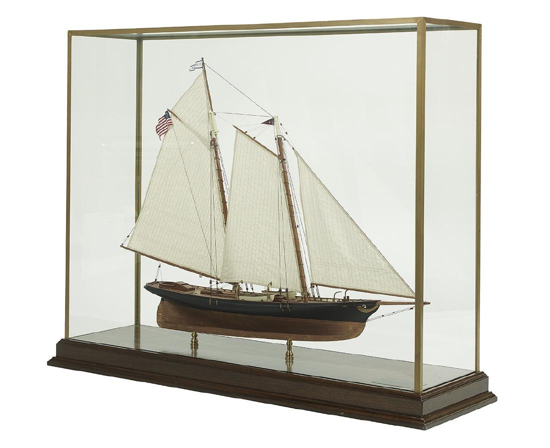 "Model of the Racing Yacht ""America"" - 2"