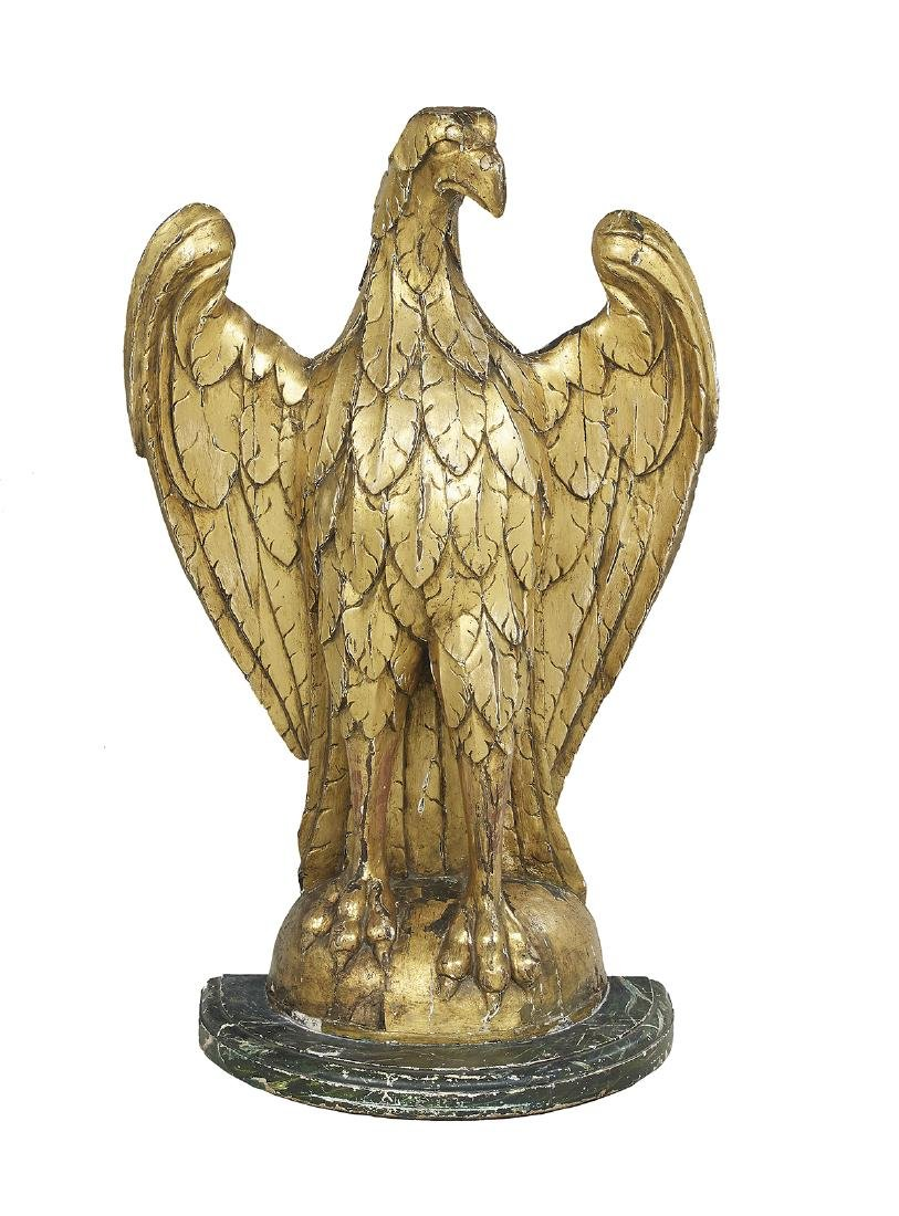 Continental Carved Giltwood Eagle