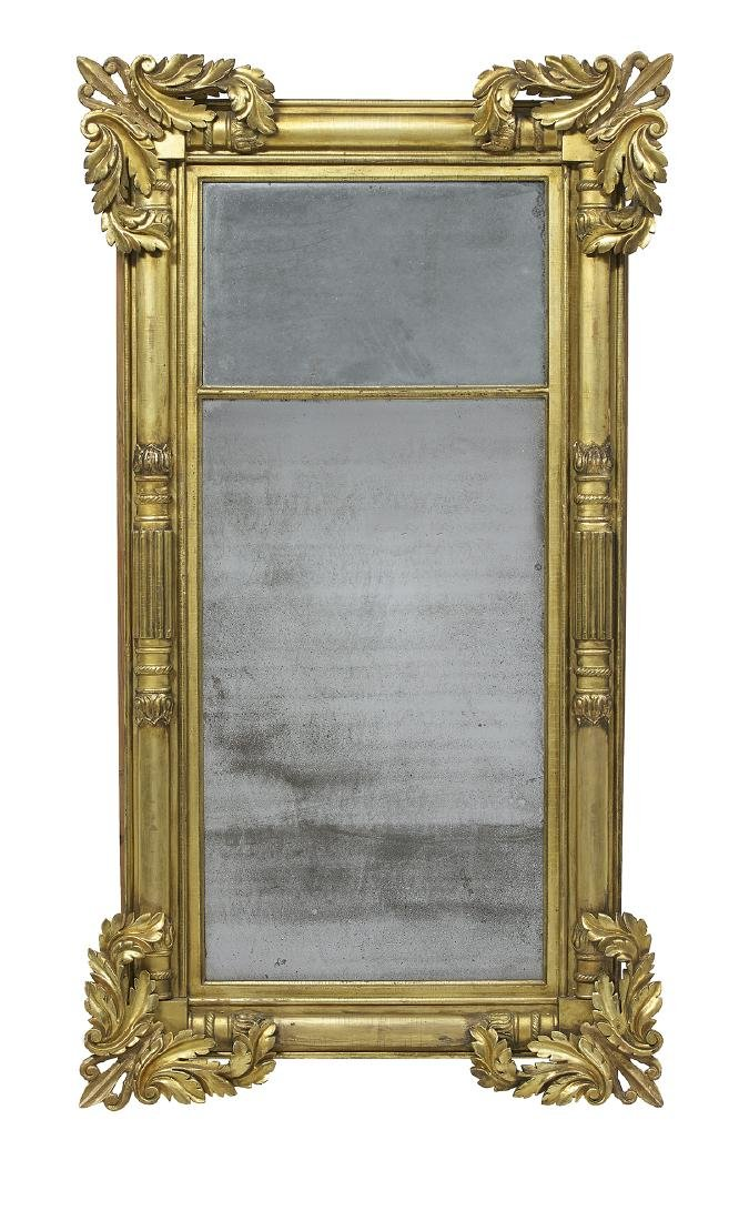 American Classical Giltwood Tabernacle Mirror