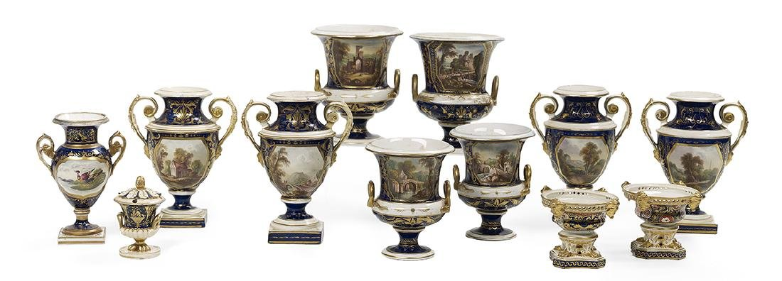 Twelve-Piece Collection of Derby Porcelain