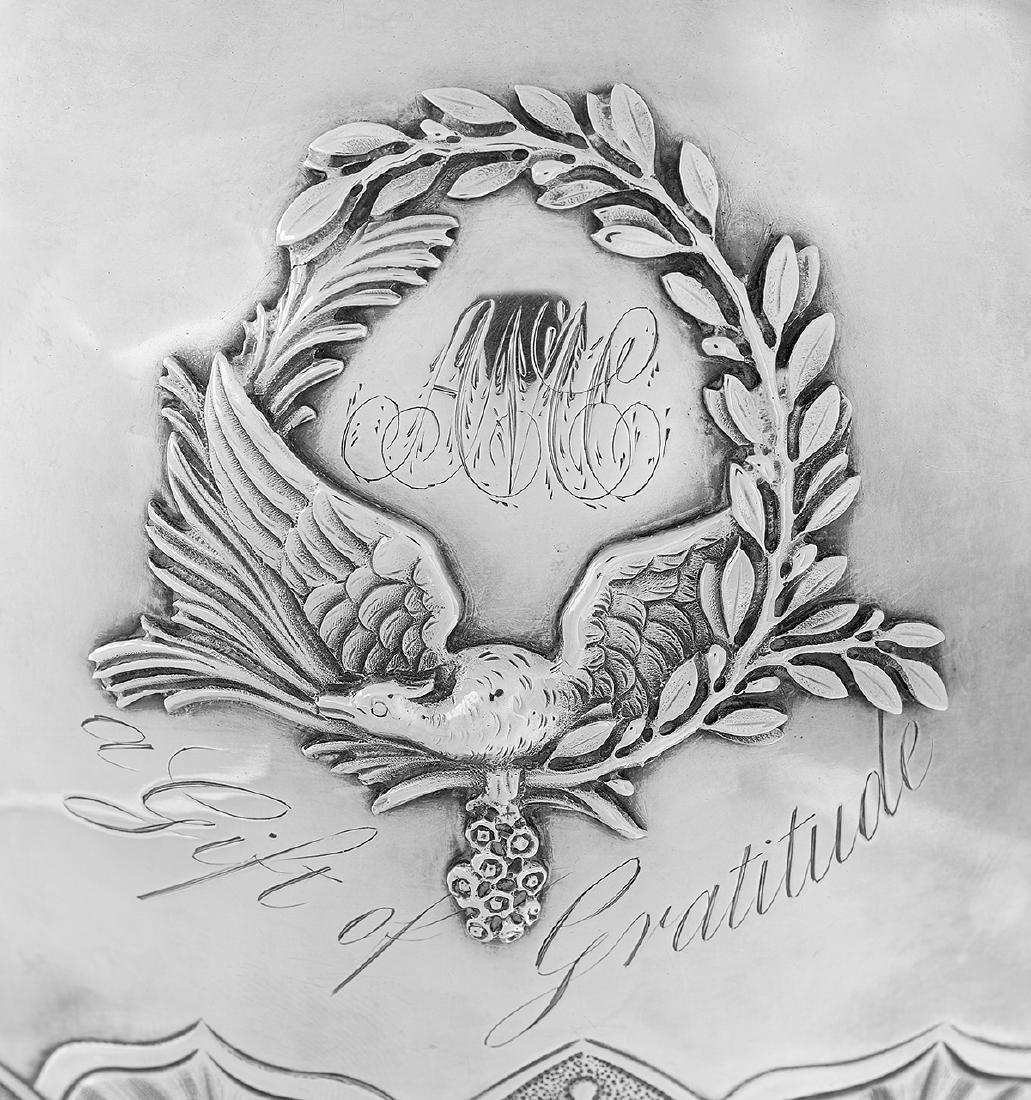 Fine Philadelphia Neoclassical Coin Silver Ewer - 6