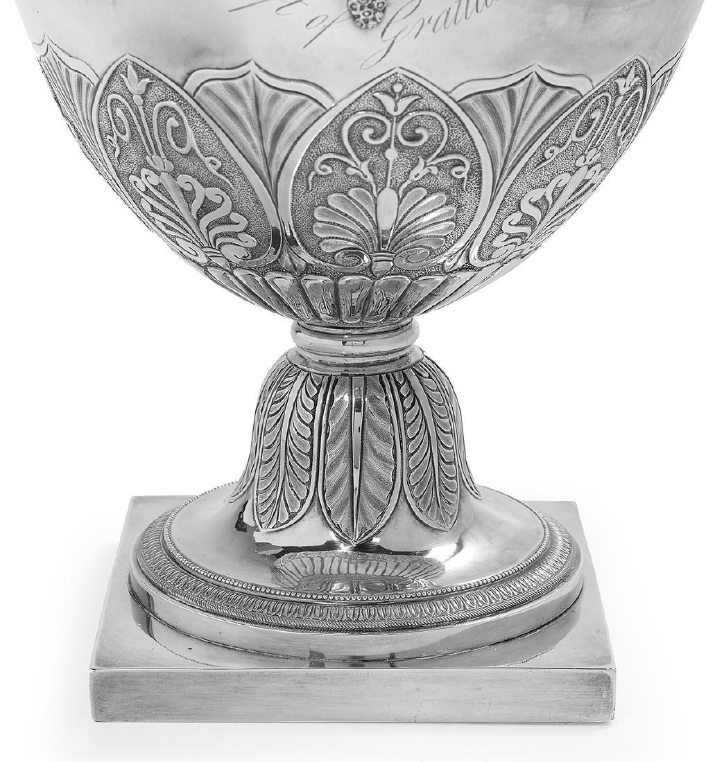 Fine Philadelphia Neoclassical Coin Silver Ewer - 7
