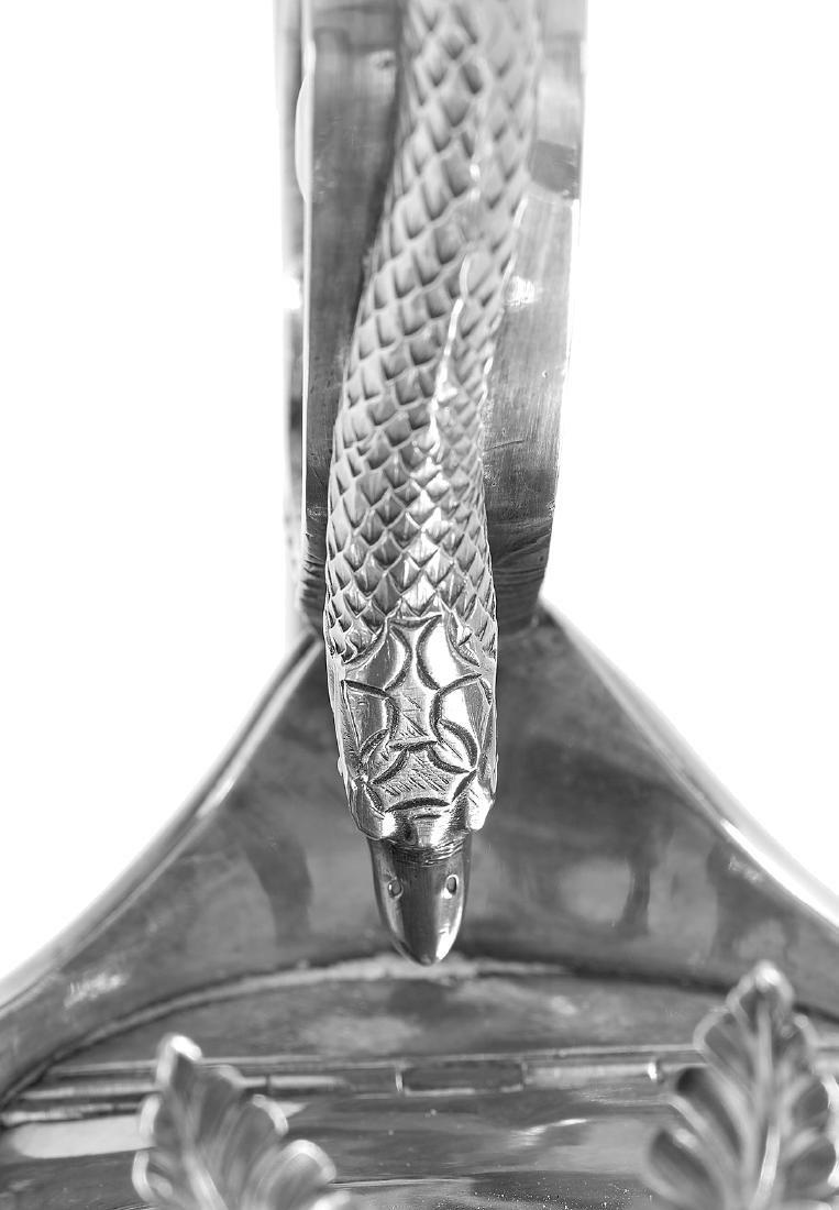 Fine Philadelphia Neoclassical Coin Silver Ewer - 8
