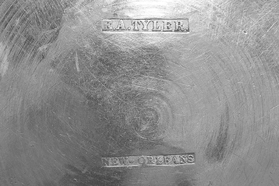 Five New Orleans and Richmond Coin Silver Mugs - 9