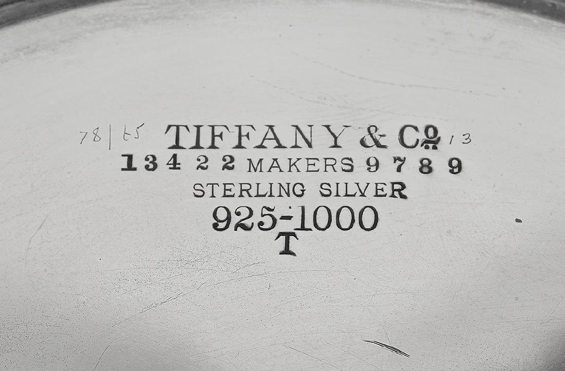 """Tiffany Silver & Antler """"Pine Cone"""" Chafing Dish - 5"""