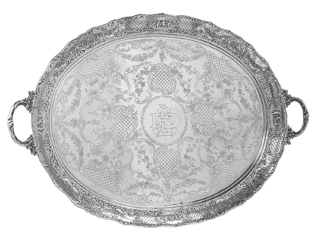 American Sterling Silver Tea Tray