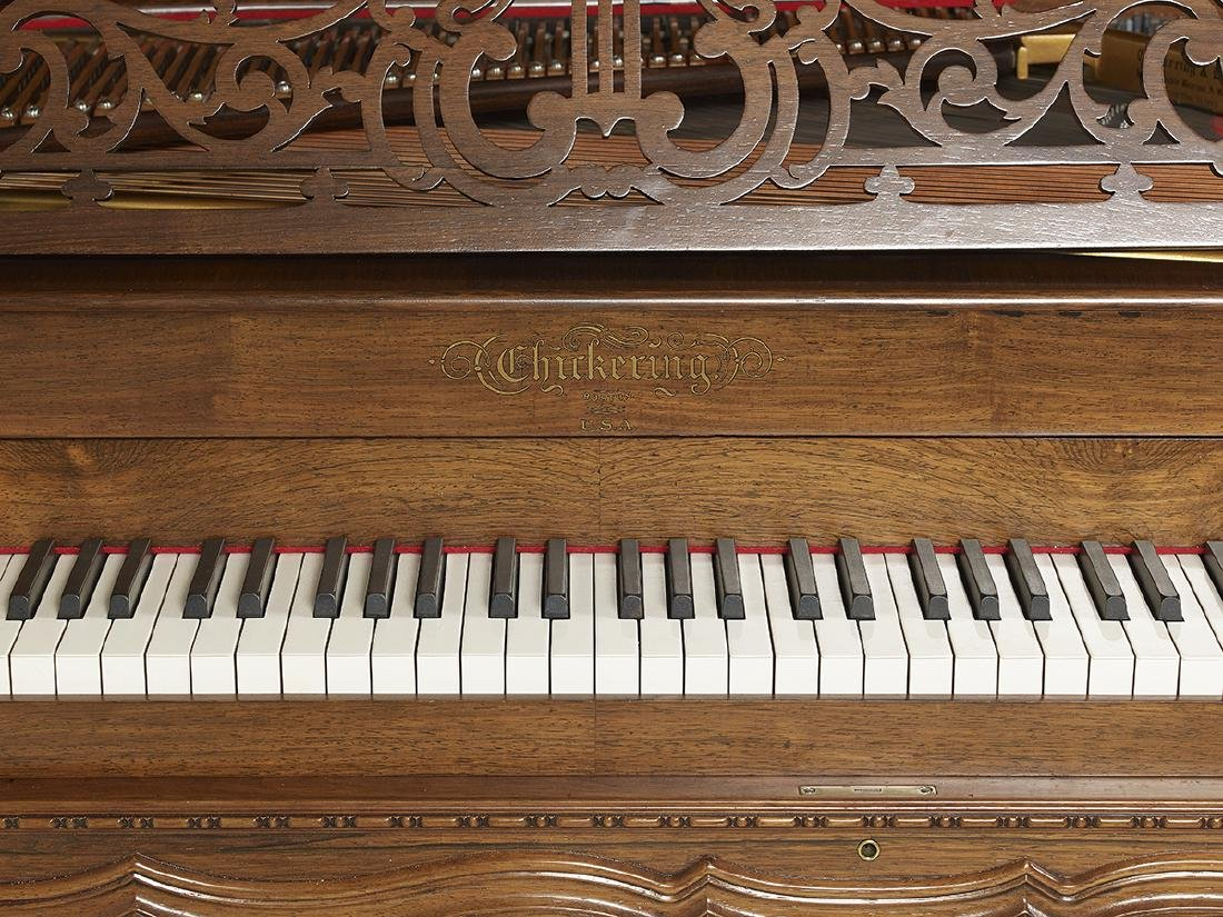 Chickering & Sons Rosewood Square Grand Piano - 2