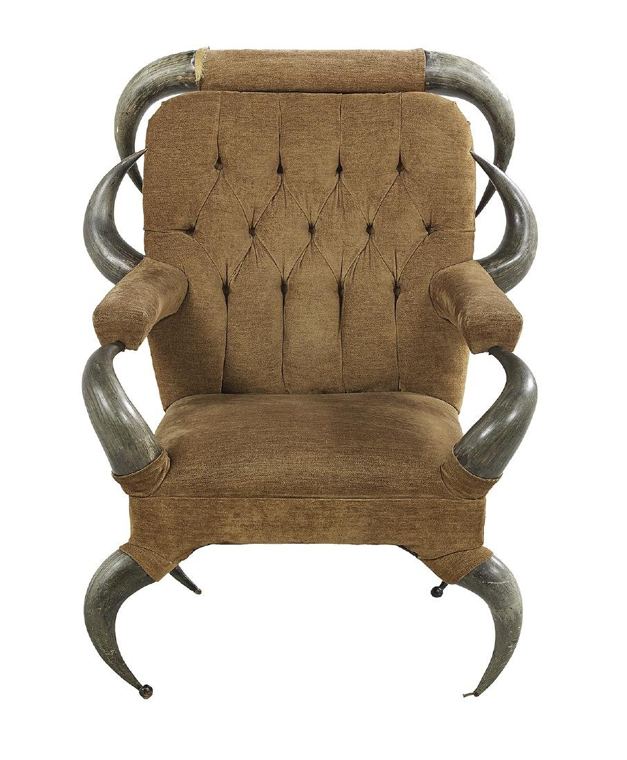 American Longhorn Armchair