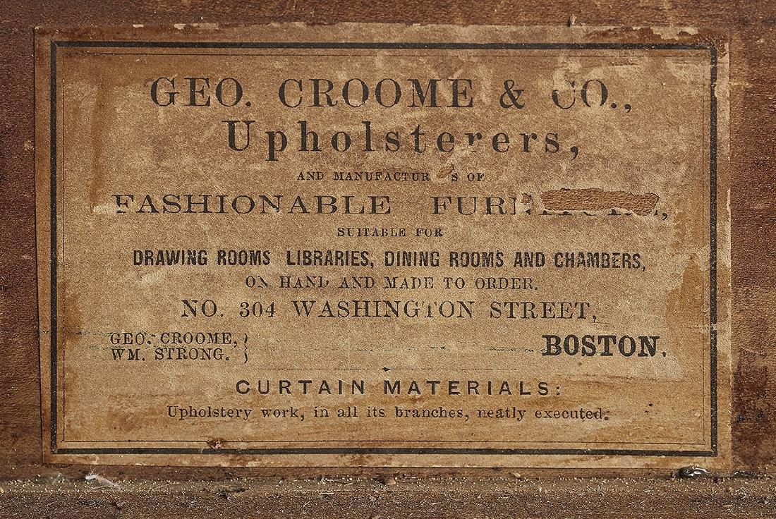 American Rococo Revival Marble-Top Sideboard - 2