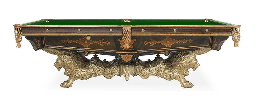 Brunswick-Balke Collender Co. Billiards Table