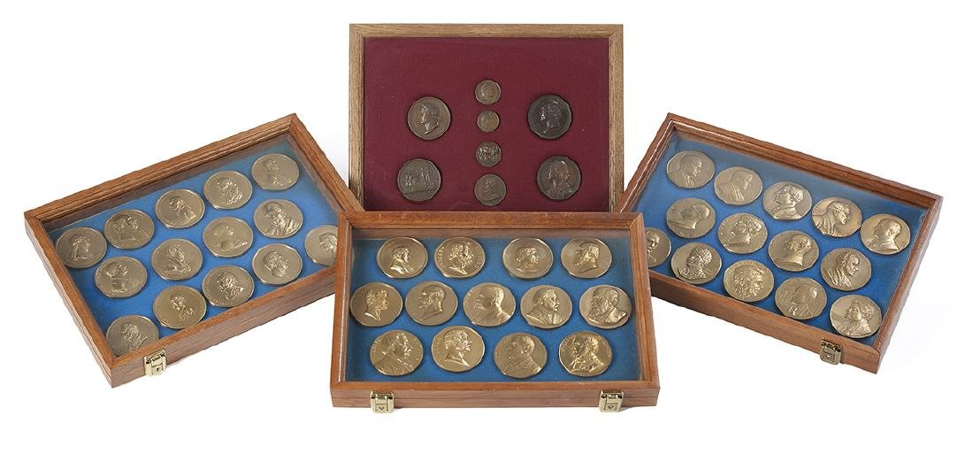 43 U.S. Mint Presidential and 8 Other Medals