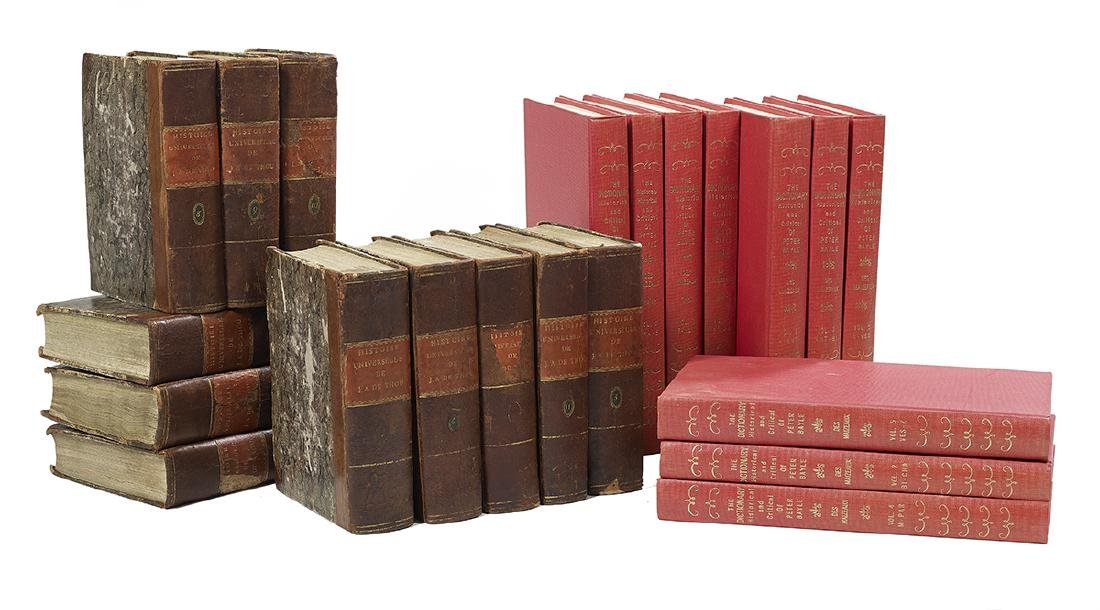 Two 18th-C. Multi-Volume Historical References