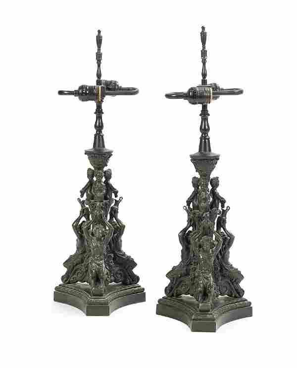 Pair of Italian Grand Tour Bronze Souvenirs