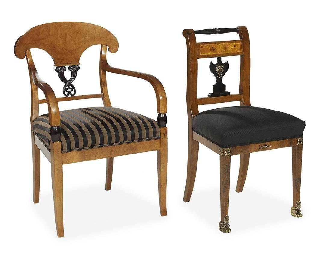 Two French-Style Chairs