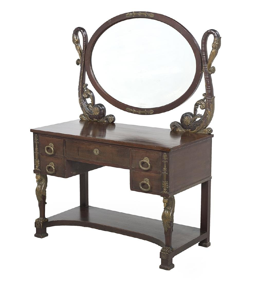 Empire-Style Ormolu-Mounted Dressing Table - 2