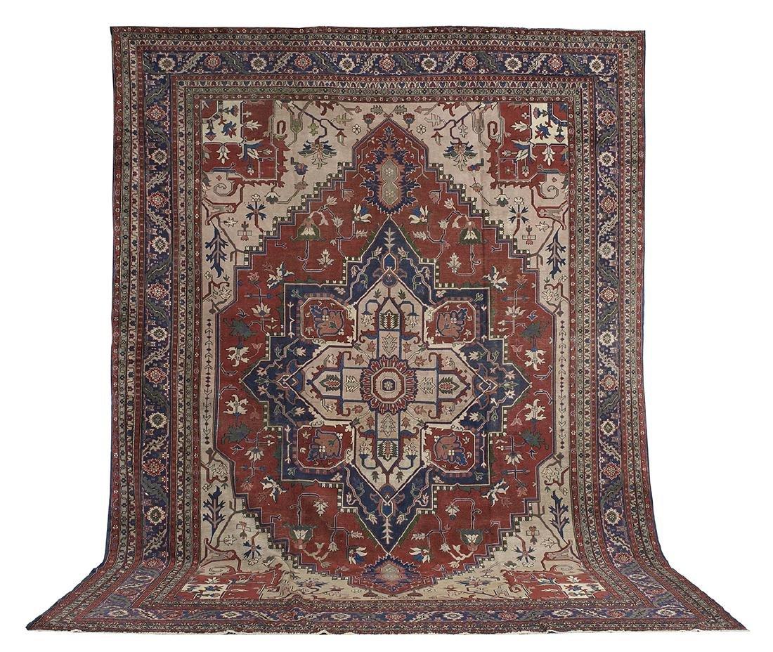 Turkish Heriz Serapi Carpet