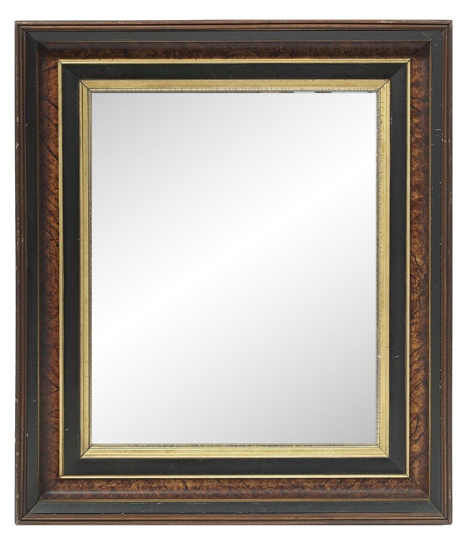 American Renaissance Revival Walnut Mirror