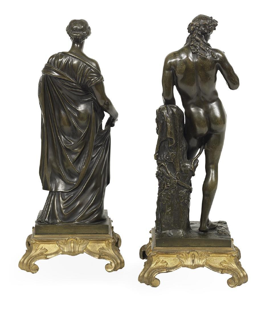 Pair of Italian Bronzes of Classical Figures - 2