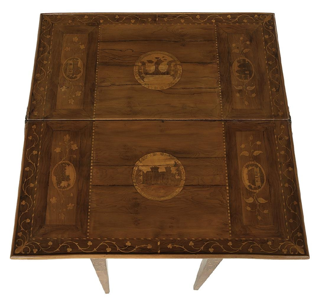 Italian Neoclassical Fruitwood Games Table - 5