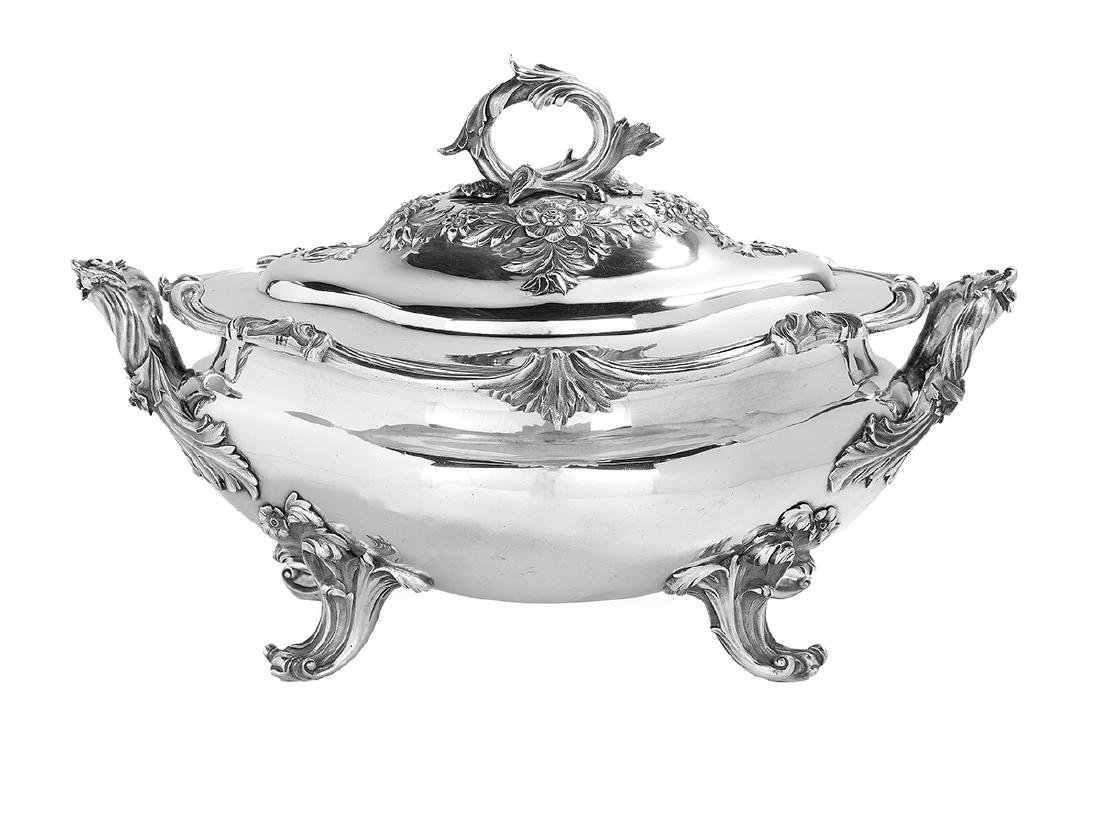 William IV Sterling Silver Tureen