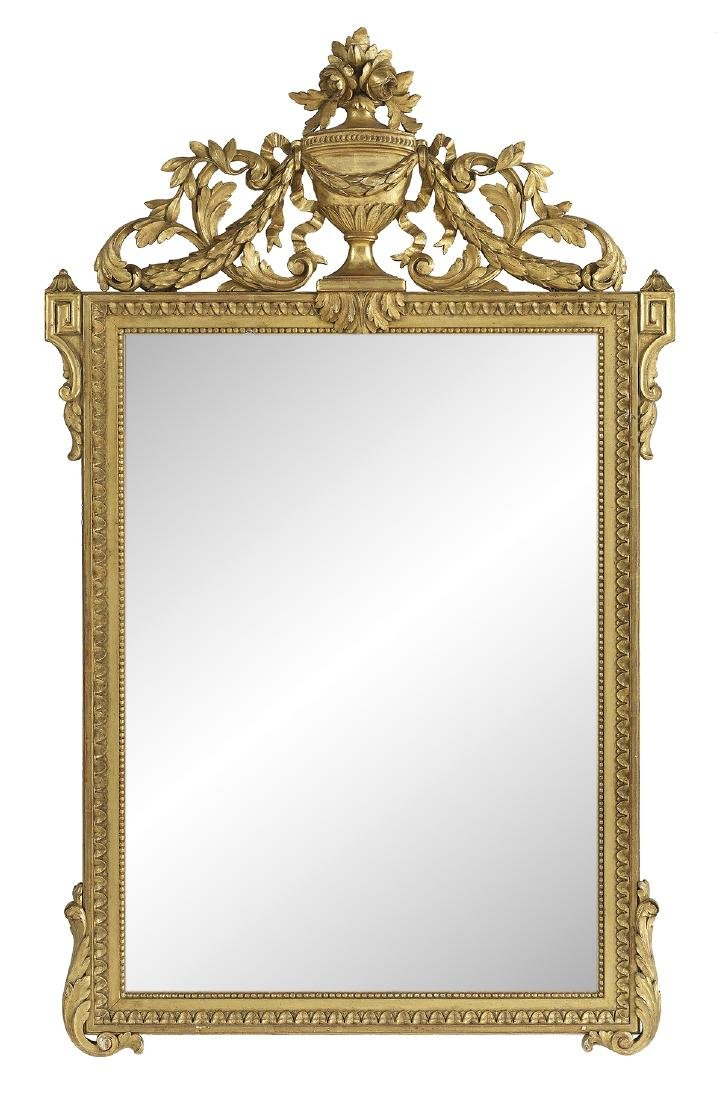 Giltwood Mirror in the Louis XVI Taste