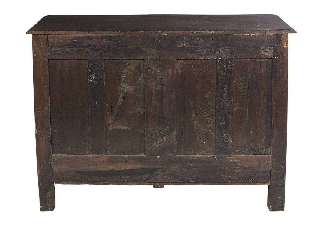 Provincial Regence Fruitwood Commode - 2