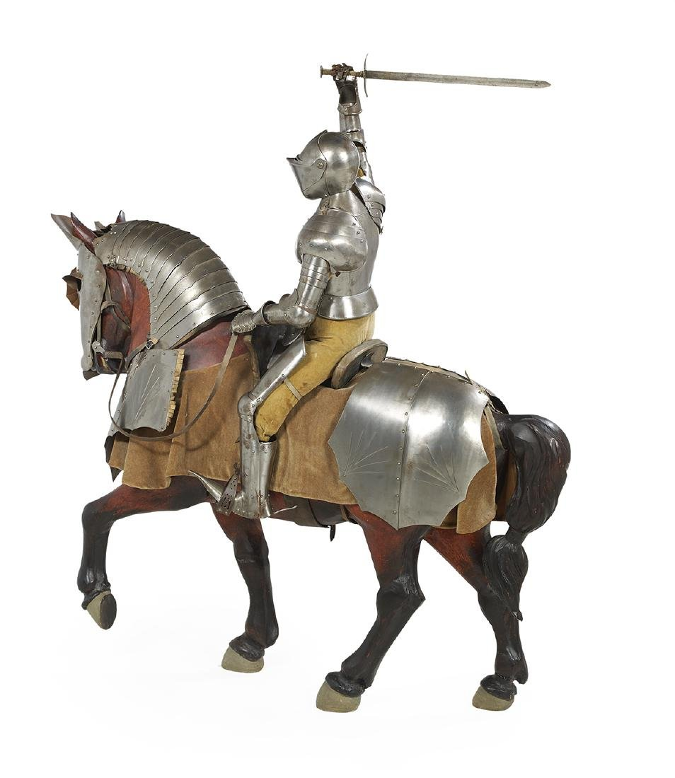Large Scale Model of a Knight on Horseback - 2