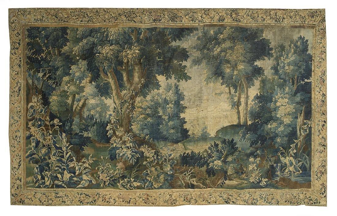 Brussels Handwoven Verdure Tapestry
