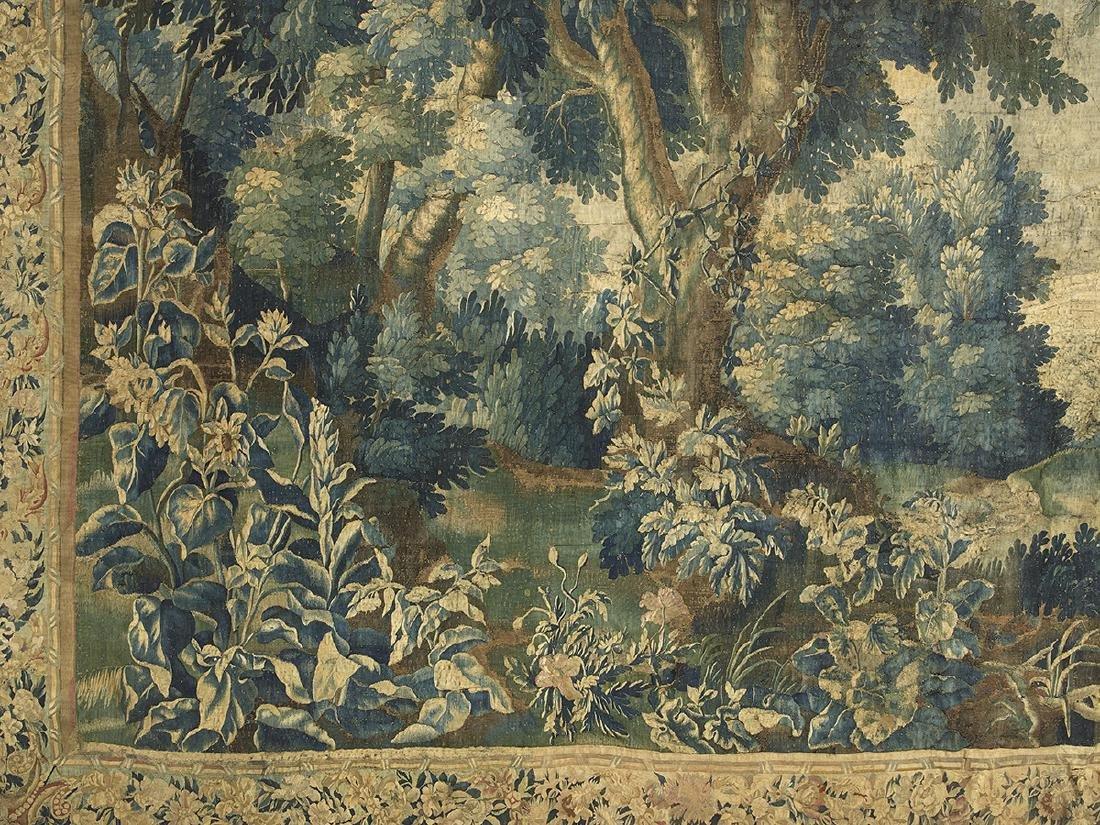 Brussels Handwoven Verdure Tapestry - 2