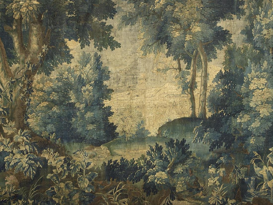 Brussels Handwoven Verdure Tapestry - 3