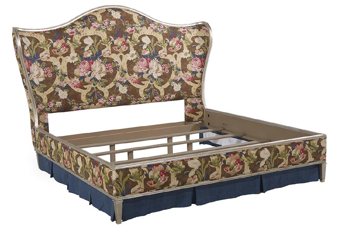 "Caracole ""Emilee"" Linen-Upholstered King Bed - 2"