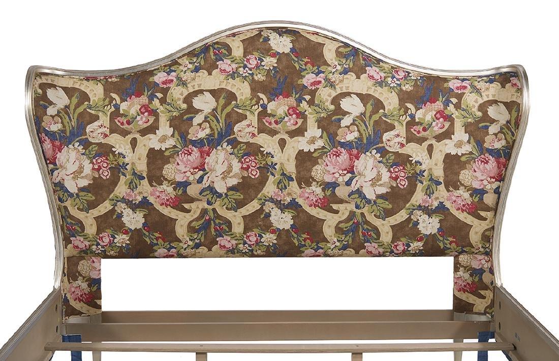 "Caracole ""Emilee"" Linen-Upholstered King Bed - 3"