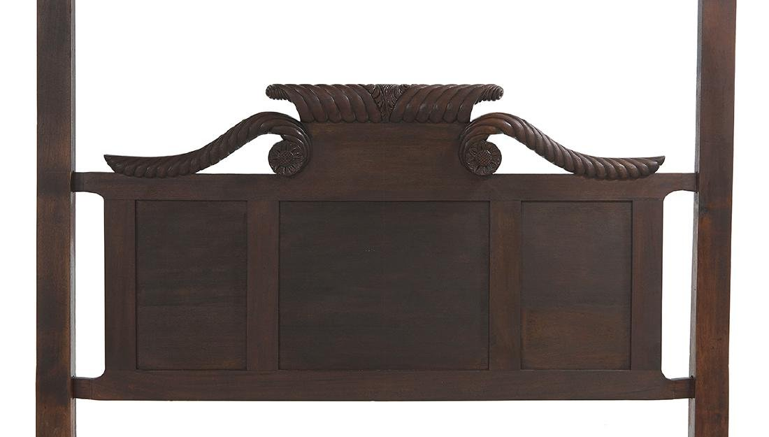 Gillows Late Regency Mahogany Tester Bed - 2