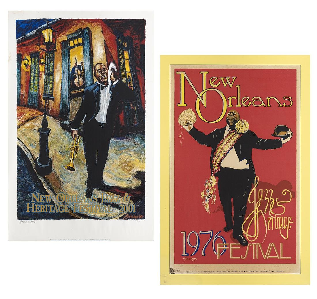 Two New Orleans Jazz Fest Posters