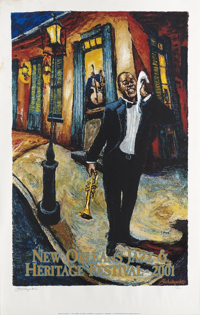 Two New Orleans Jazz Fest Posters - 2