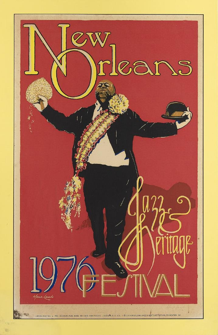 Two New Orleans Jazz Fest Posters - 3