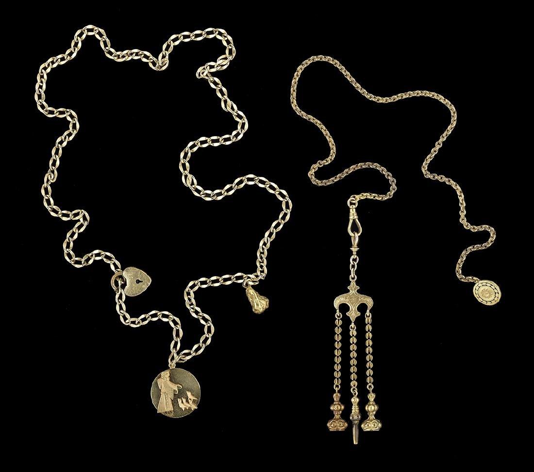Four-Piece Gold Lot