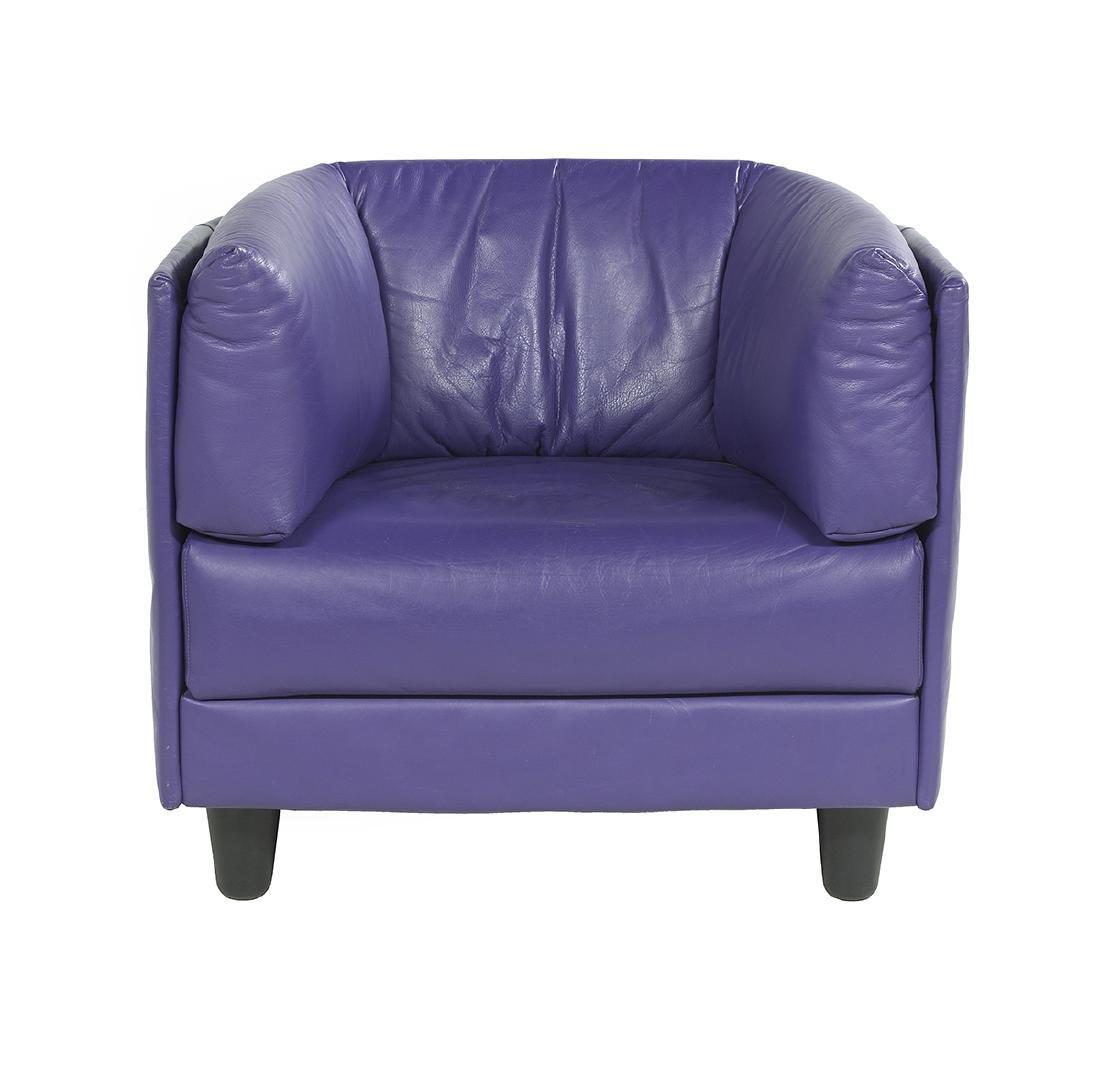 Vintage Ligne Roset Barrel-Back Chair - 2