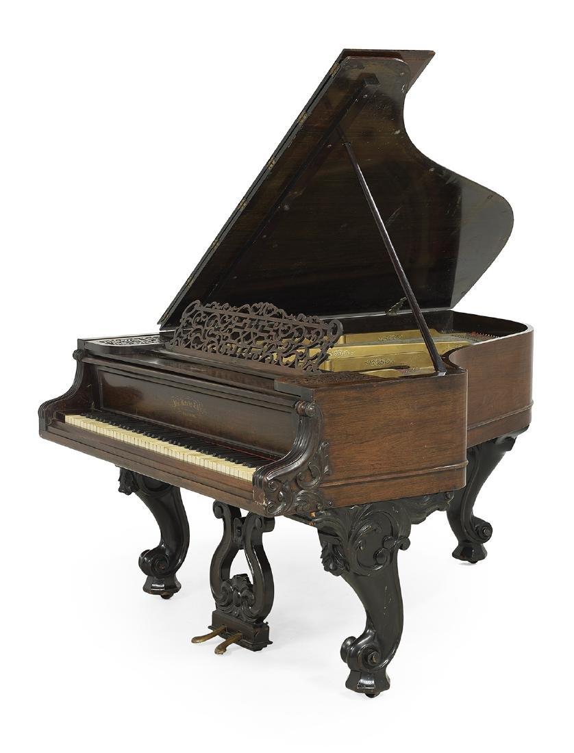 Wm. Knabe & Co., Baltimore, Rosewood Grand Piano