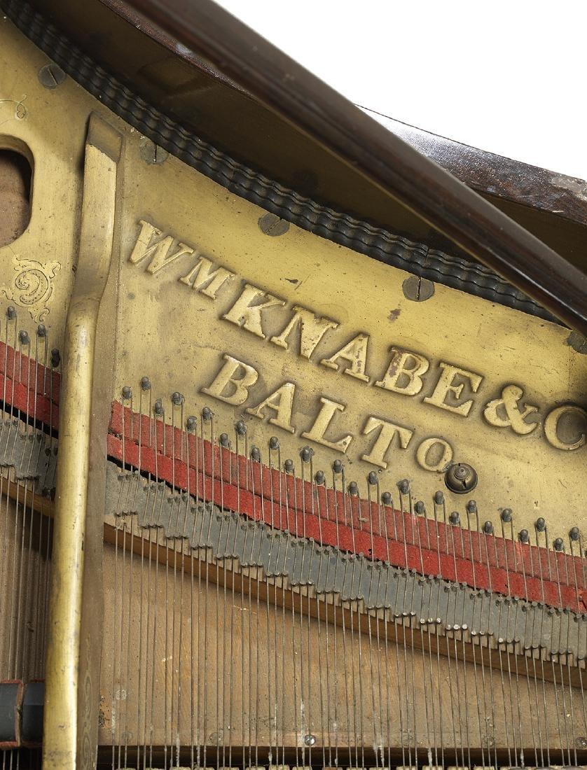 Wm. Knabe & Co., Baltimore, Rosewood Grand Piano - 2