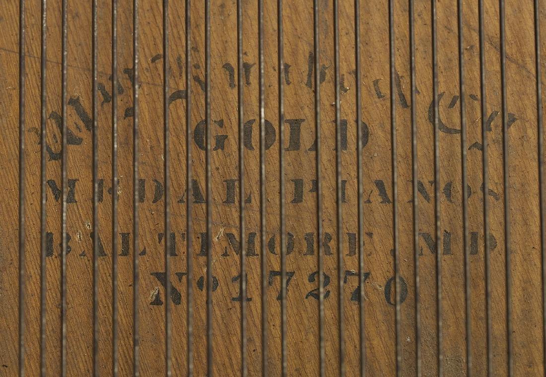 Wm. Knabe & Co., Baltimore, Rosewood Grand Piano - 3