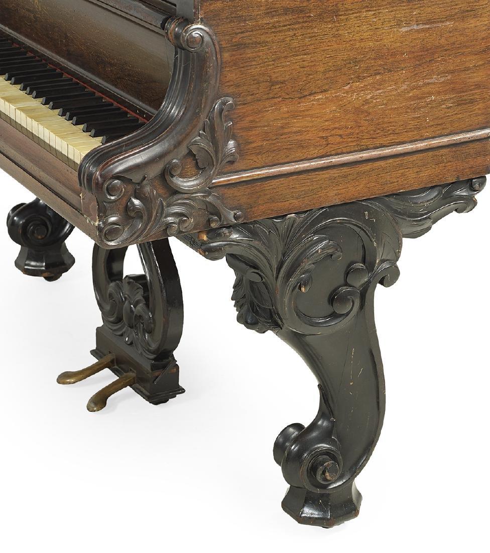 Wm. Knabe & Co., Baltimore, Rosewood Grand Piano - 4