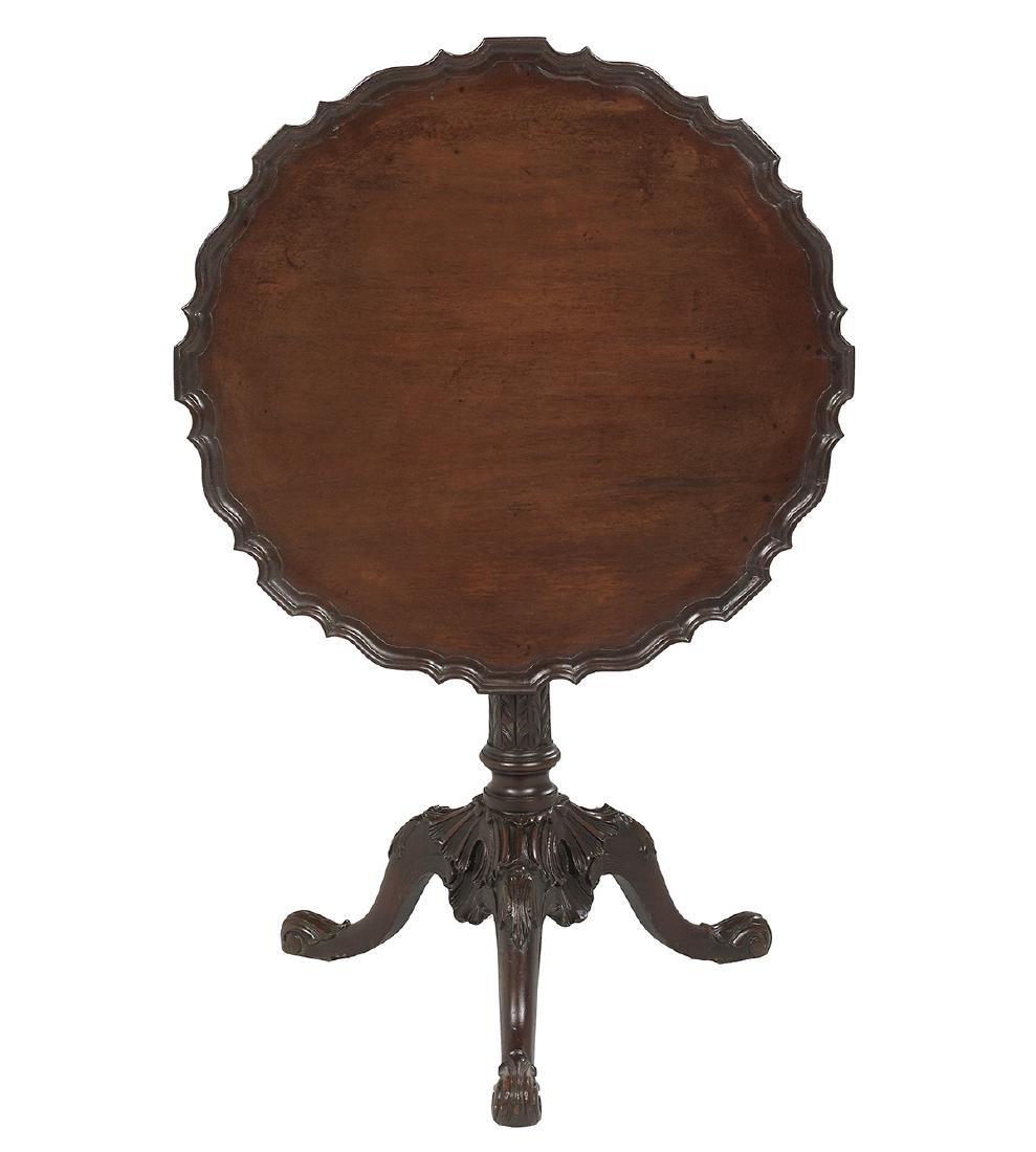 Victorian Mahogany Tilt-Top Table