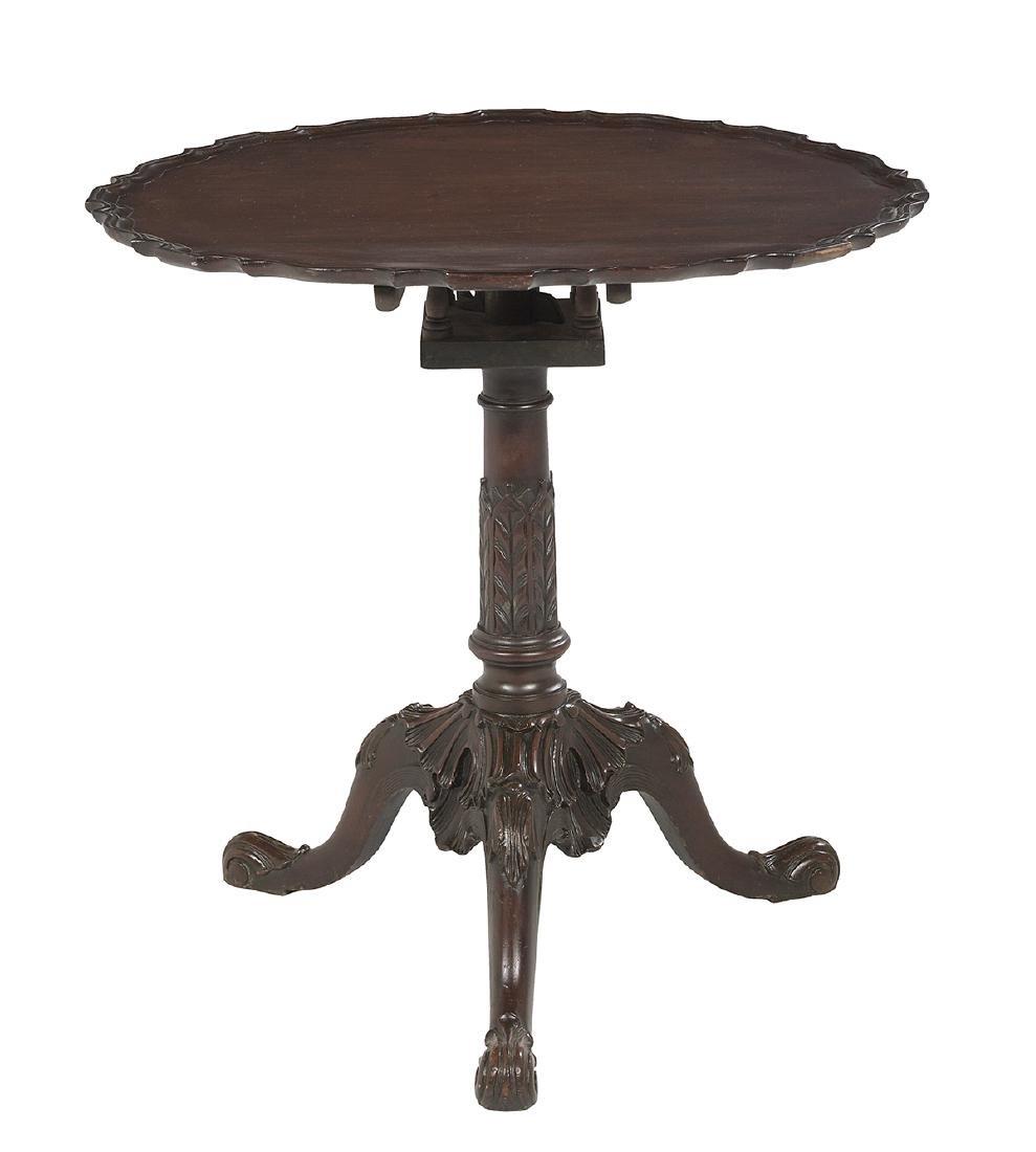 Victorian Mahogany Tilt-Top Table - 2