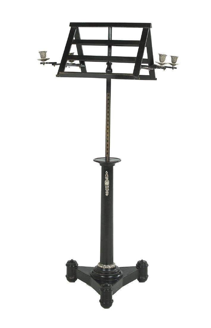 Regency-Style Double Music Stand