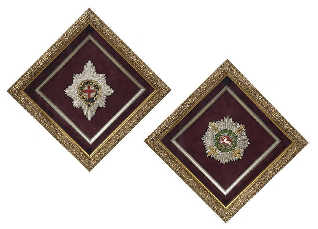 Pair of British Honorary Badges
