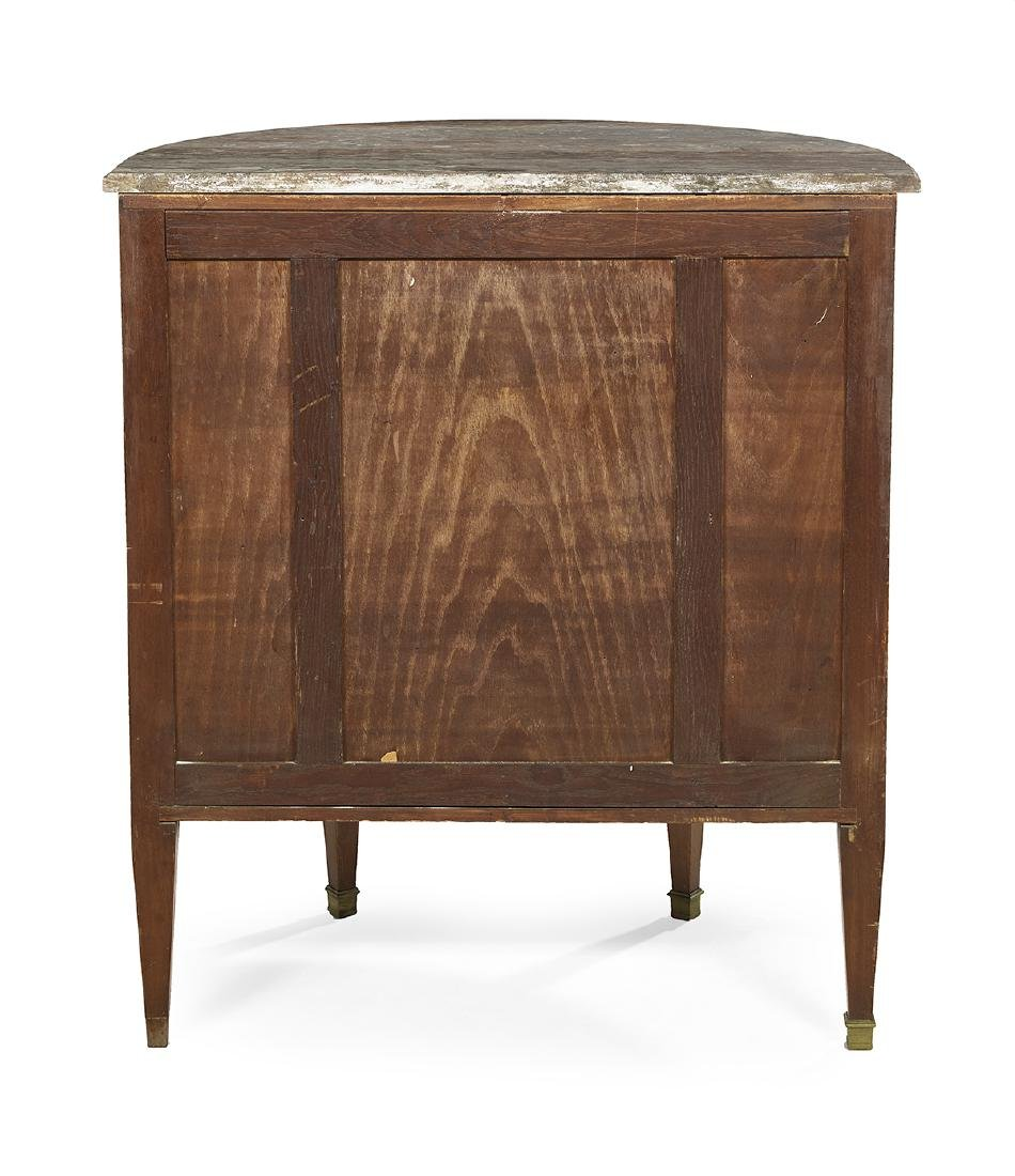 Continental Kingwood and Marble-Top Cabinet - 3