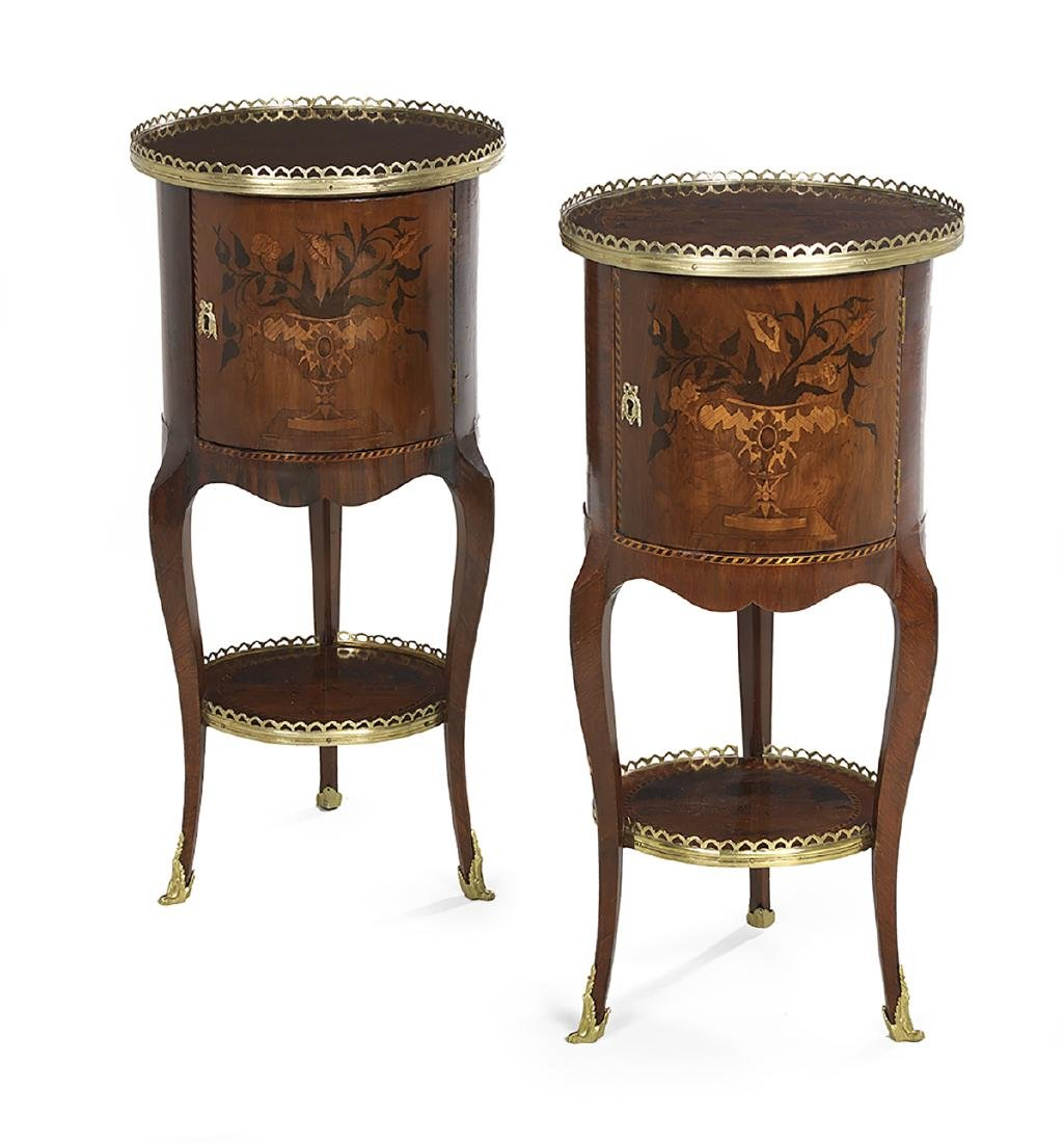 Near Pair of Napoleon III Cabinets